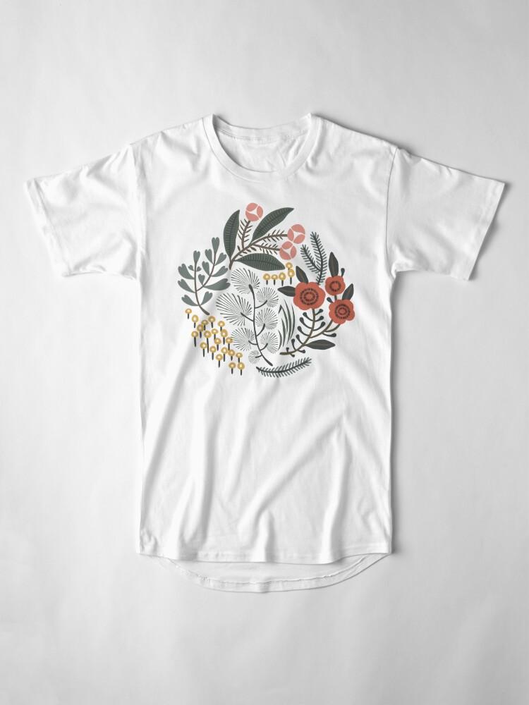 Alternate view of Night Garden Long T-Shirt