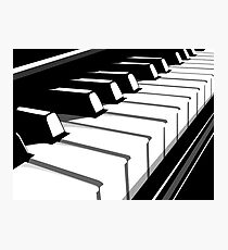 Piano Keyboard no2 Photographic Print