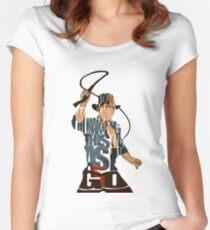 Indiana Jones Women's Fitted Scoop T-Shirt
