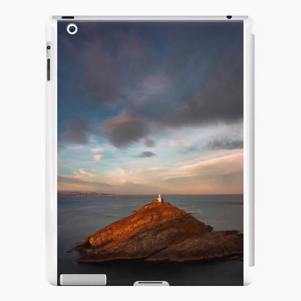 Sunlight on Mumbles Lighthouse iPad Cases & Skins