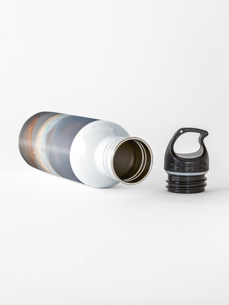 Alternate view of Sunlight on Mumbles Lighthouse Water Bottle