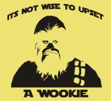 Not wise to upset a wookie
