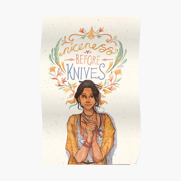 Niceness Before Knives Poster