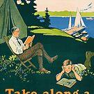 «Vamos a acampar y leer un libro.» de aapshop