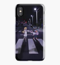 Monogatari – Mayoi and Shinobu crosswalk iPhone Case/Skin