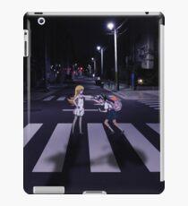 Monogatari – Mayoi and Shinobu crosswalk iPad Case/Skin