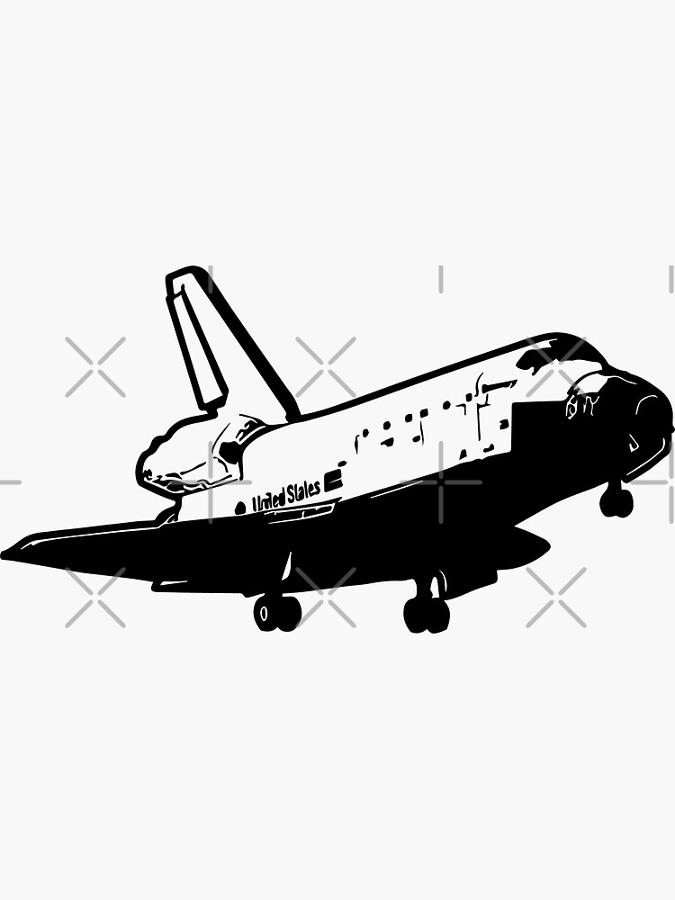 US Space Shuttle Landing by tribbledesign