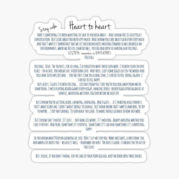 Hopper's Letter Sticker