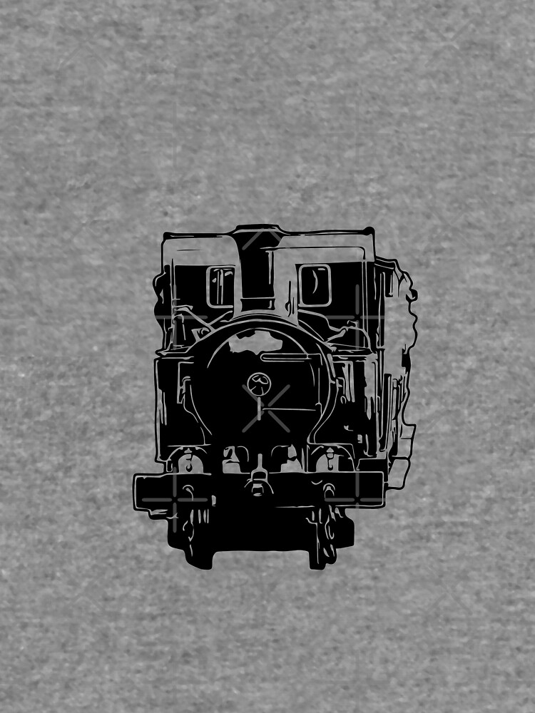 Isle of Man Steam Train and Carriages by tribbledesign