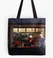 ...But let me tell YOU something........... Tote Bag