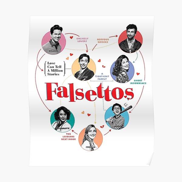 Falsettos Revival Poster