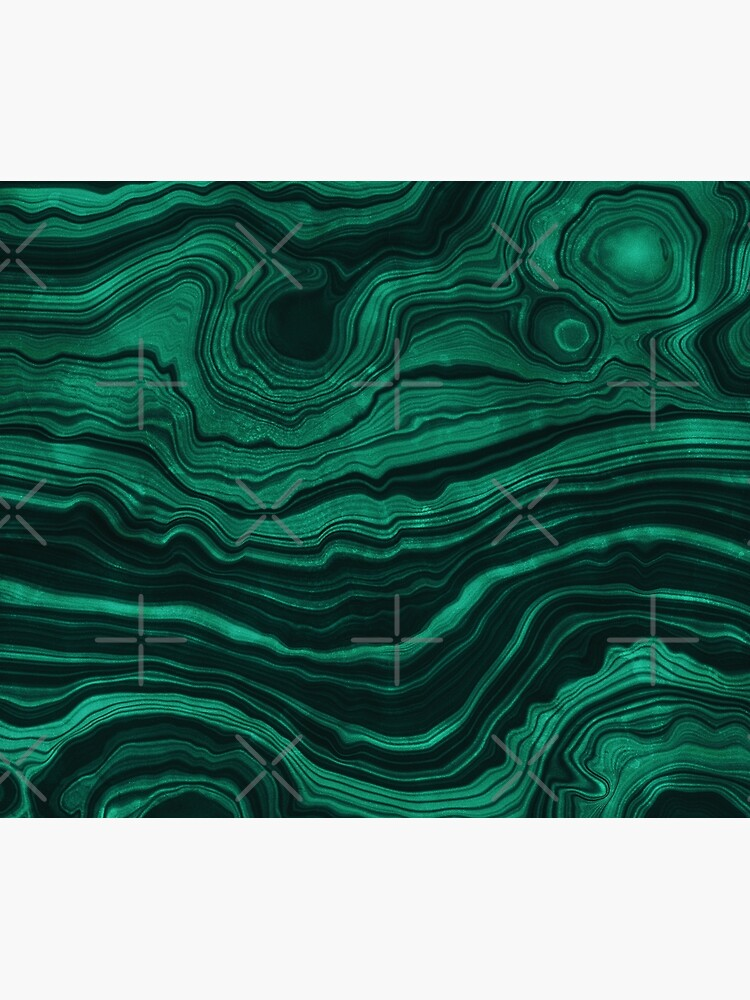 Malachite Green Marble with light Veins by MysticMarble