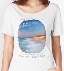 Dave Catley Landscape Photographer - Fine Art T-Shirt (Quinns Rocks) Women's Relaxed Fit T-Shirt
