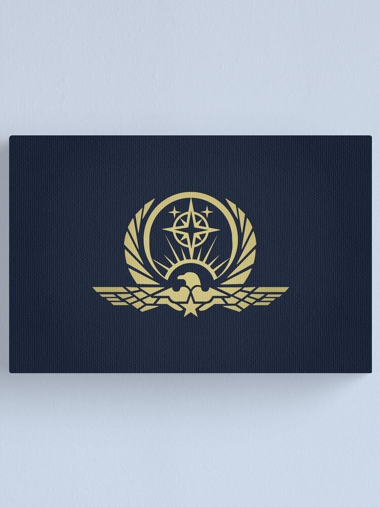 Alternate view of Interstellar Protectorate Logo Canvas Print