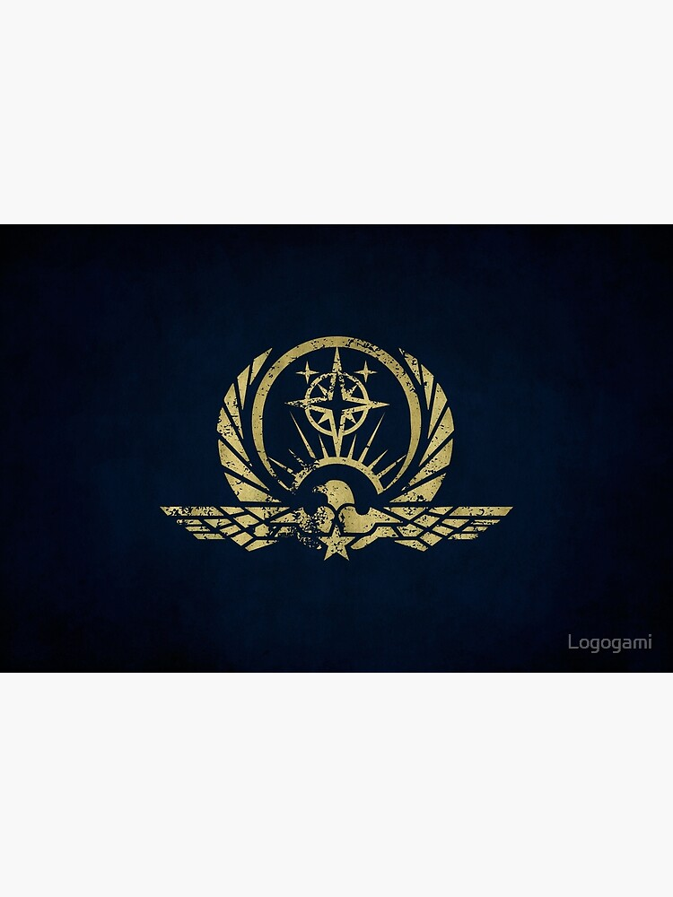 Interstellar Protectorate Logo · Distressed by Logogami