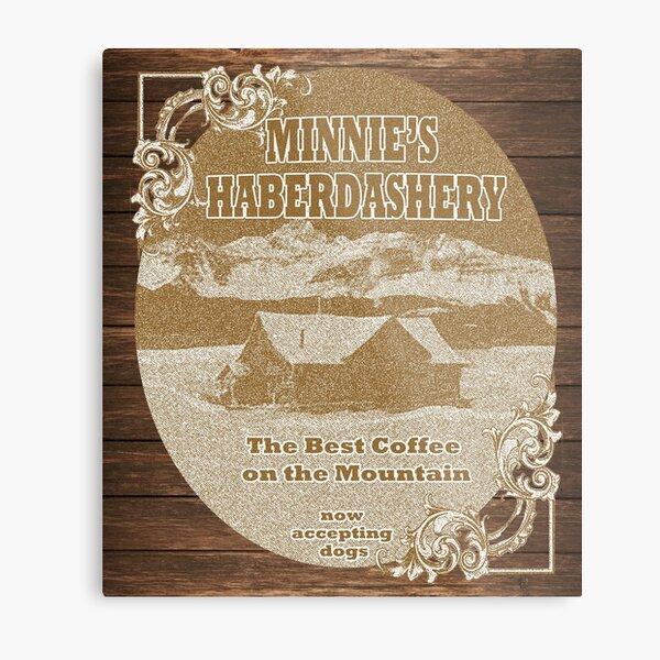 Minnie's Haberdashery Metal Print