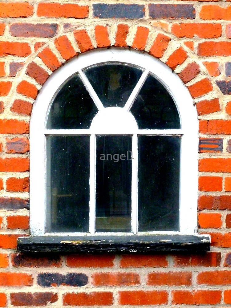 Red Brick Window by ©The Creative  Minds