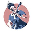 Brittany Howard portrait by Nathan Brenville