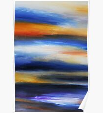 Brush Strokes no. 1 Poster