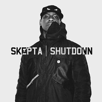 Skepta   Shutdown   T-shirt  by WAGarmentSupply