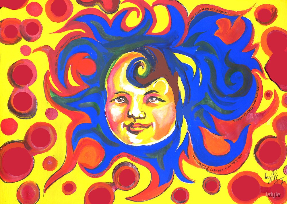 Woman Clothed With The Sun by lalyle