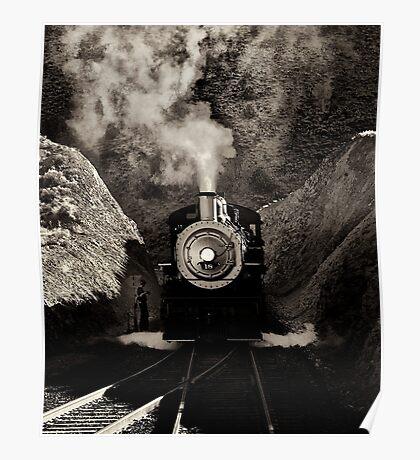V&T railroads #18 Poster