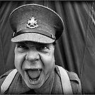 Sergeant Major Decibel ! by geoff curtis
