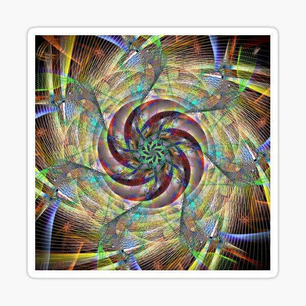 Spiral Twist Sticker
