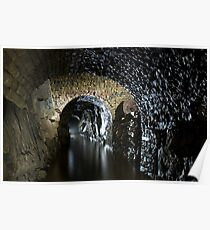 Old mineral mine tunnels Poster