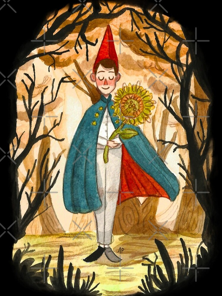 Wirt in the Forest - Over the Garden Wall™ by annieparsons