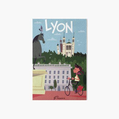 Affiche Lyon Impression rigide