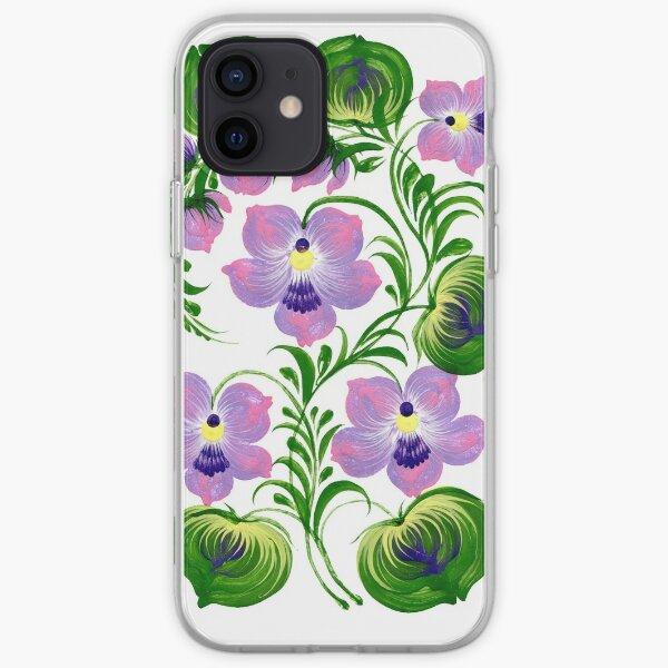 Viola iPhone Soft Case