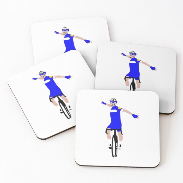 Julian Alaphilippe Tour de France Coasters (Set of 4)