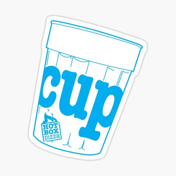 HotBox Cup-Blue Sticker
