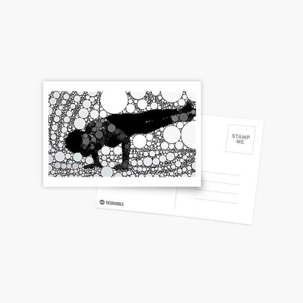 Yoga art 5 Postcard