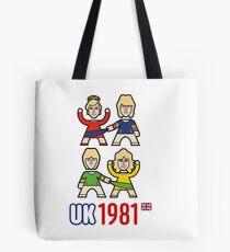UK 1981 Tote Bag