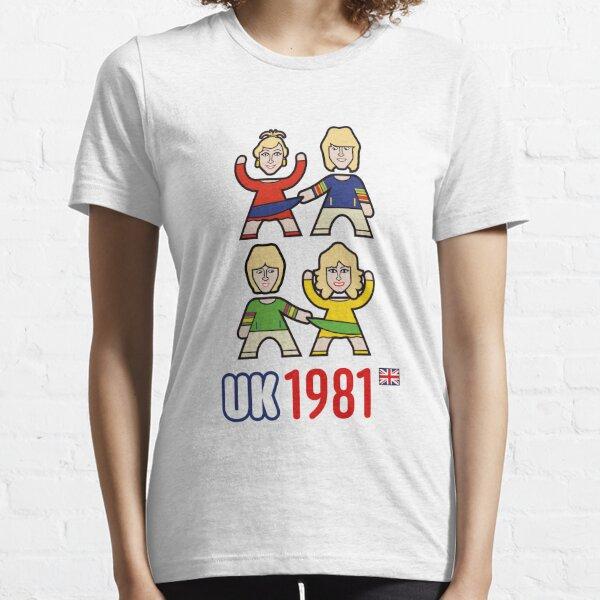 Reino Unido 1981 Camiseta esencial