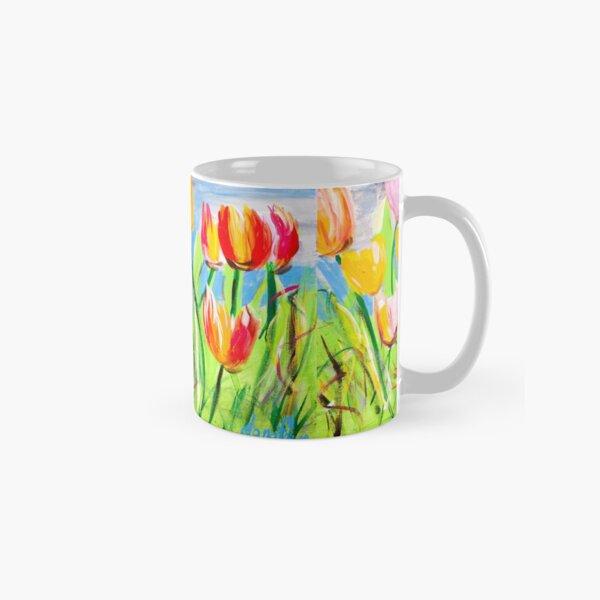 Messy Tulips Classic Mug