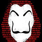 The mask of names by Paula García