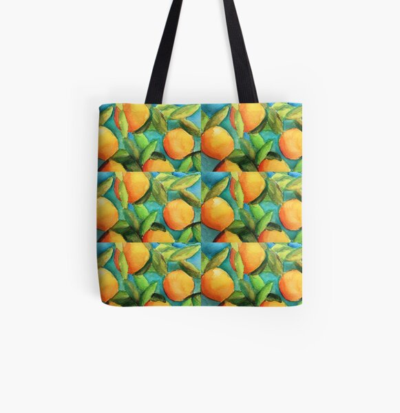 Orange You a Peach? All Over Print Tote Bag