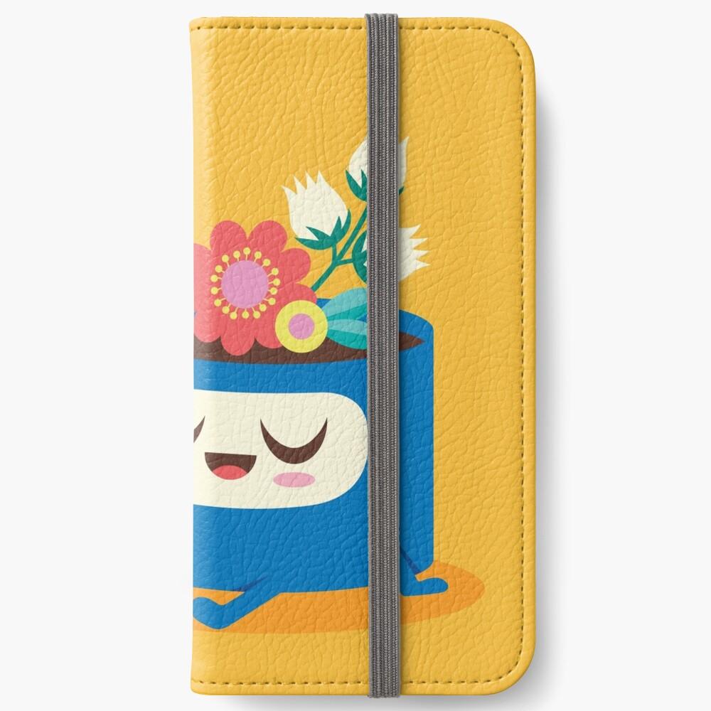 Flower Pot Head and Magic Tea iPhone Wallet