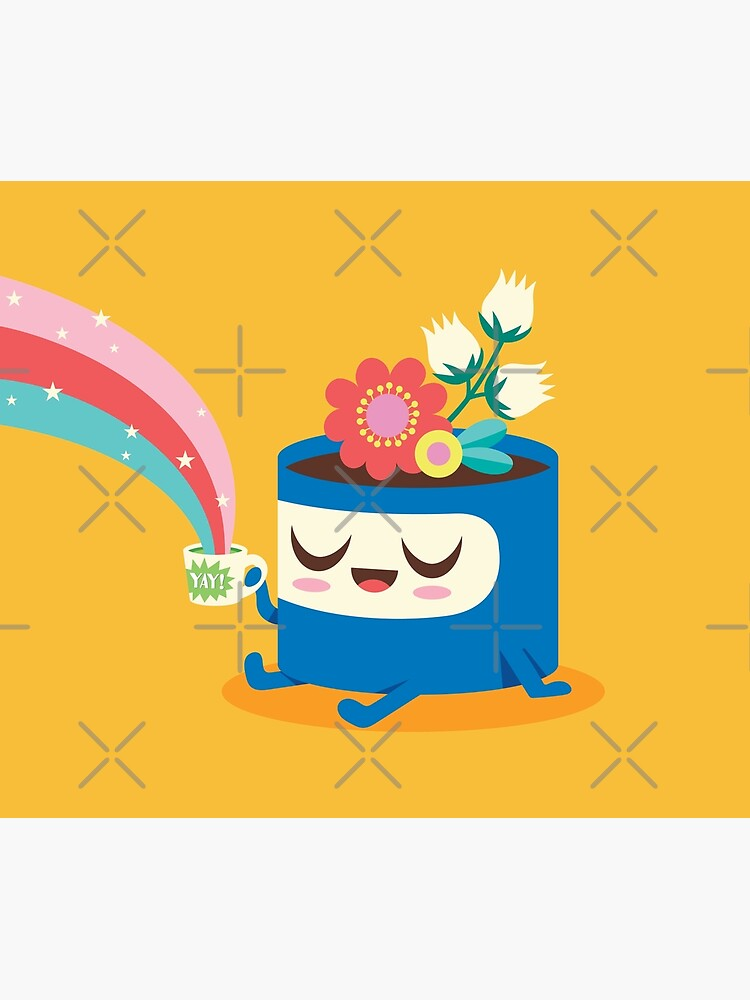 Flower Pot Head and Magic Tea by jsongdesign