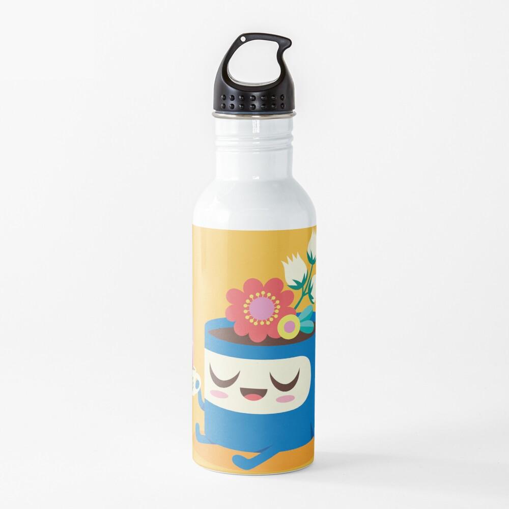Flower Pot Head and Magic Tea Water Bottle