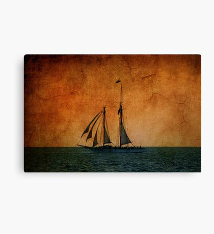 The America in Key West Canvas Print