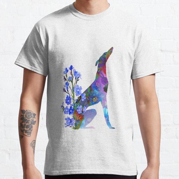 Galgo de las Flores Camiseta clásica