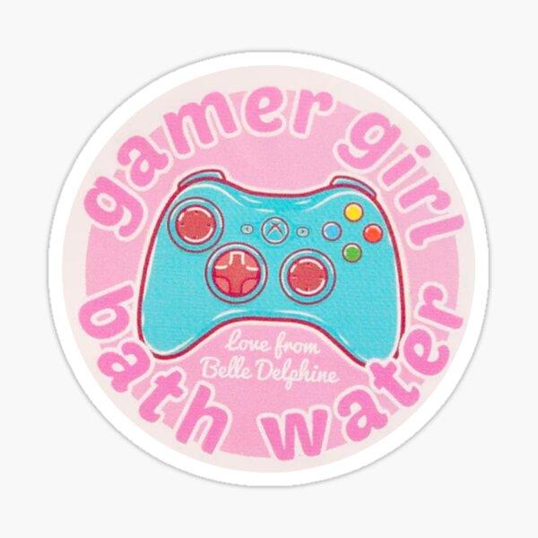 (Almost) Gamer Girl Bath Water Sticker
