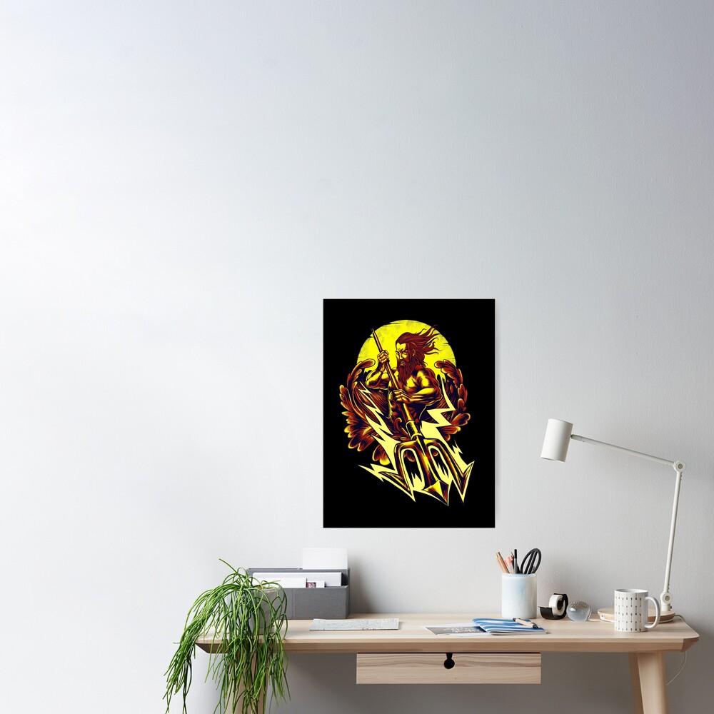 Poseidon thunder Poster