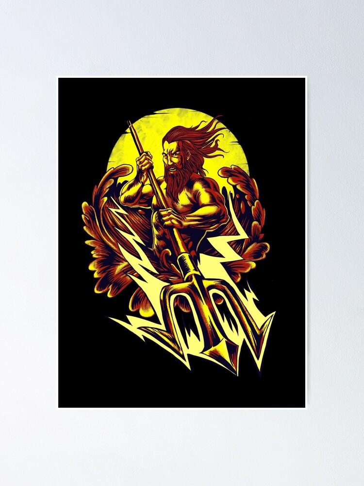 Alternate view of Poseidon thunder Poster