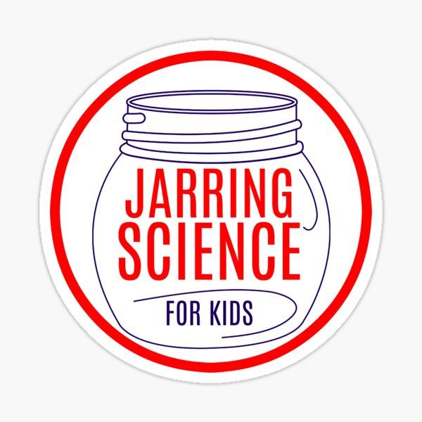 Science in a jar Sticker
