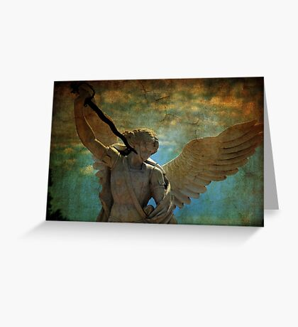 Angel of the last days Greeting Card